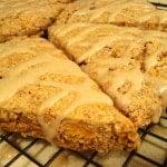 Whole wheat sweet potato scones