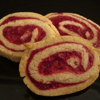 Cinnamon Cranberry Pinwheel Cookies