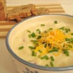 Figure-Friendly Baked Potato Soup