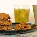 Monday Breakfast Series: Vegan Quinoa Breakfast Cookies