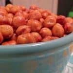 Salt and Vinegar Roasted Chickpeas