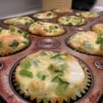 Monday Breakfast Series: Veggie and Cheese Egg Muffins