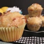Monday Breakfast Series: Lemon Coconut Muffins