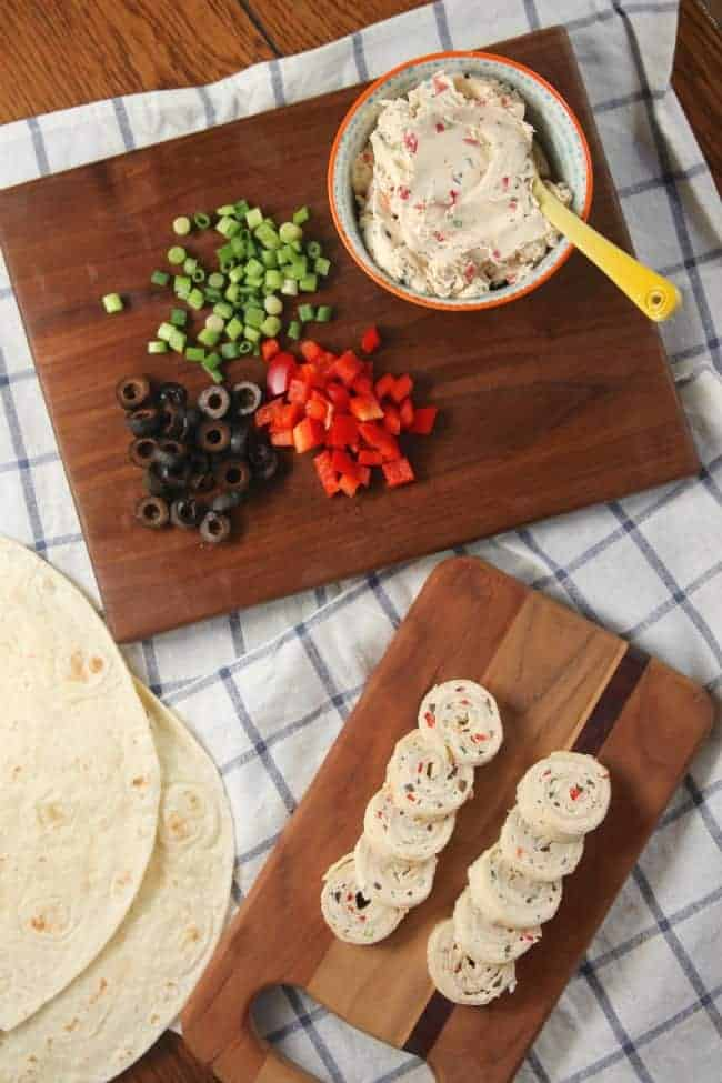 Cream Cheese Ranch Rollups