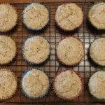 Tahini-Lime Muffins