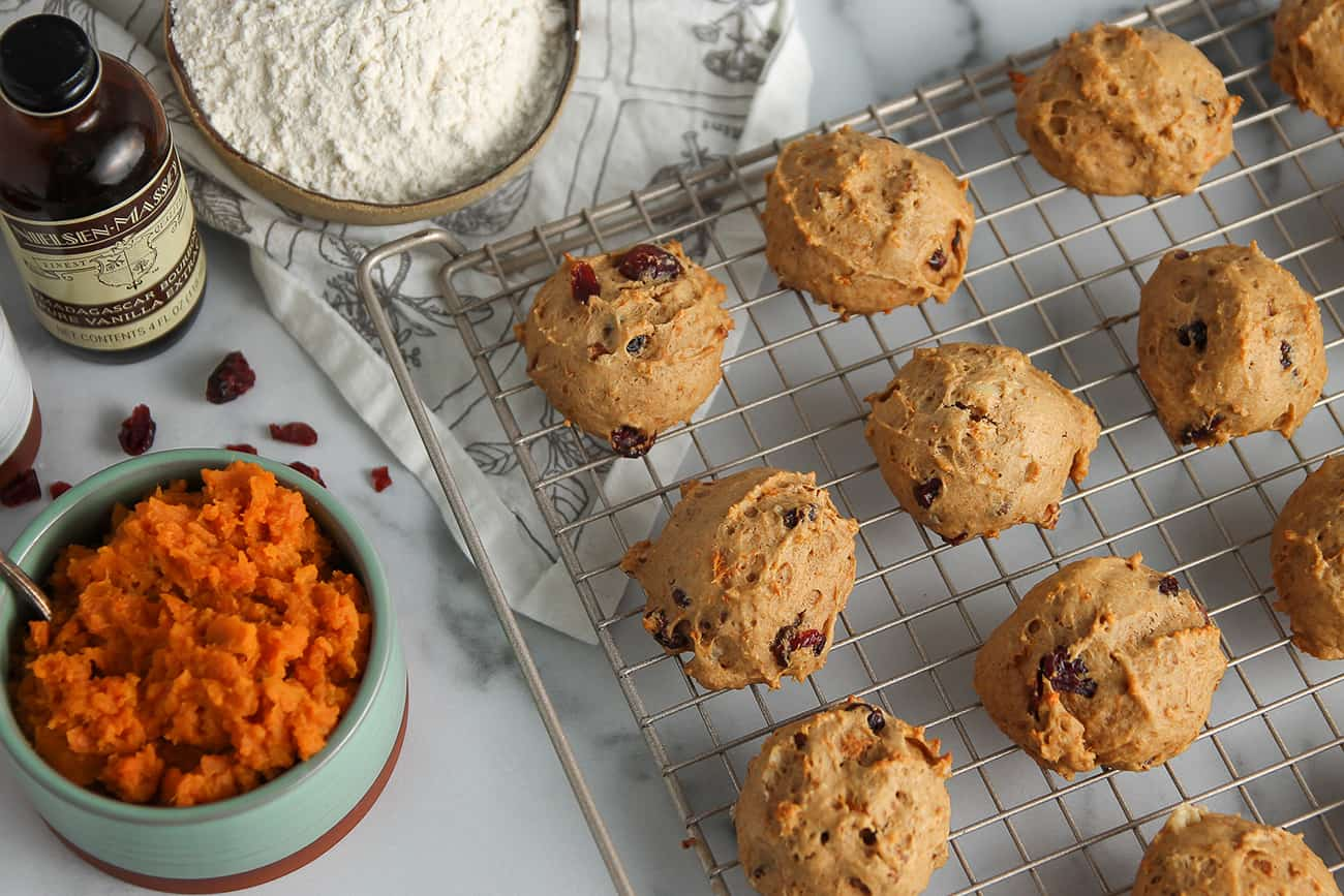 Easy-to-make Sweet Potato Cookies will be your new favorite cookie recipe.