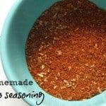 Homemade Taco (and Chili) Seasoning