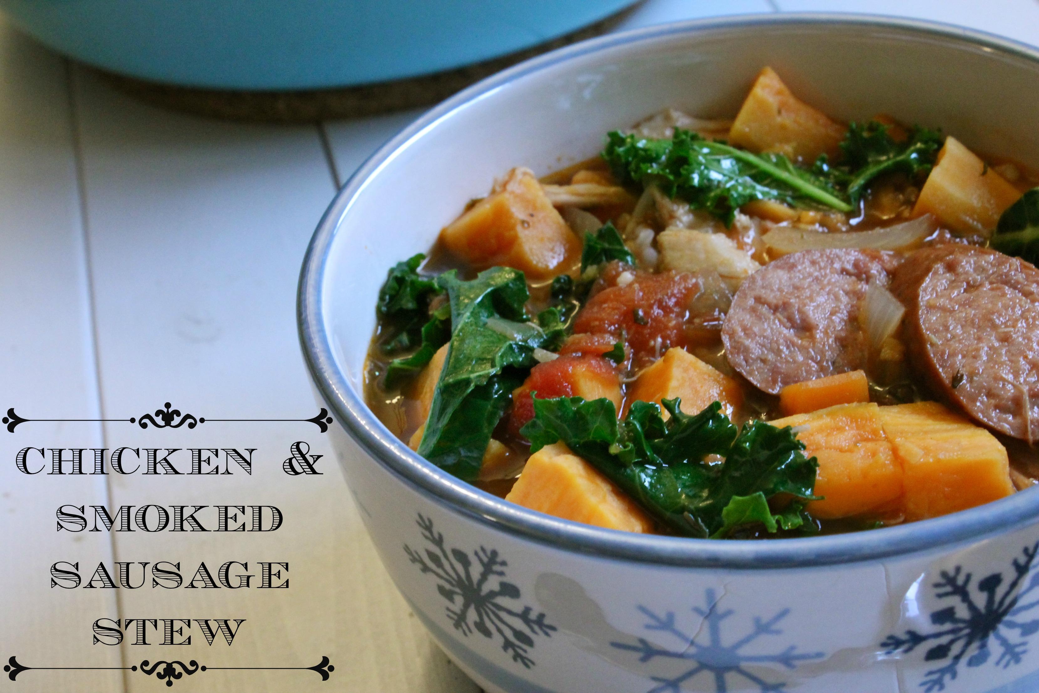 Chicken-Sausage Stew