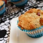 Plum Poppy Seed Muffins