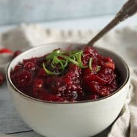 Texas Cranberry Chutney