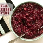 Texas Cranberry Chutney