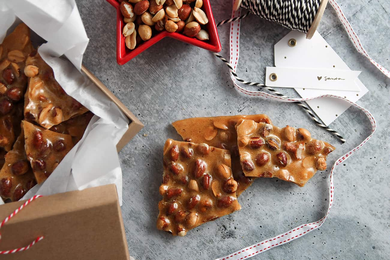 Homemade Peanut Brittle is a classic Christmas candy that your family will want to make for years to come.