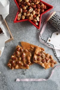 Homemade Peanut Brittle is a classic holiday candy that will become a family tradition