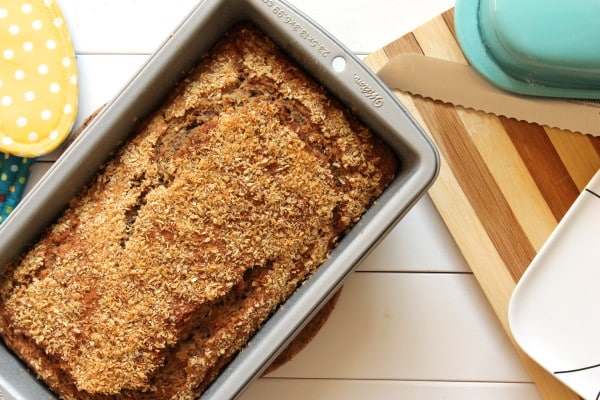 Vegan Sourdough Banana Bread