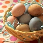Homemade Easter Egg Dye {and a Le Creuset giveaway!}