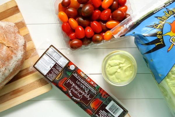 BLT Panzanella Ingredients