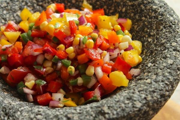 four pepper salsa