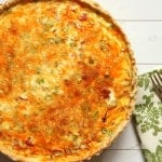Mexican-Style Quiche {Guest post on The Cooking Actress}