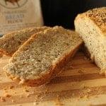 Multi-Grain Sourdough Boule {And a King Arthur Flour Giveaway!}