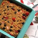 Strawberry-Blueberry Baked Oatmeal