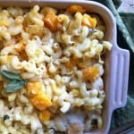 {Friends First with A Cedar Spoon} Butternut Squash and Sage Mac & Cheese