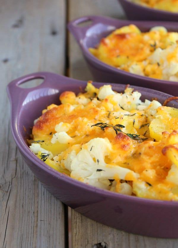rachel cooks cauliflower potato bake