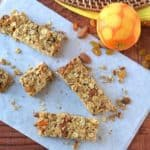 {Friends First with The Law Student's Wife} Orange Almond Granola Bars