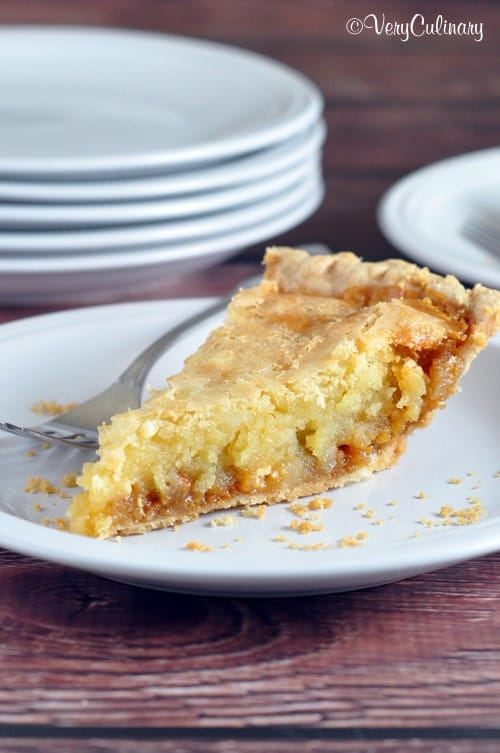 Macadamia Nut Butterscotch Pie-VeryCulinary