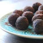 {Friends First with Laura's Mess} Raw Cacao Mint Truffles