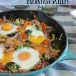 Pancetta and Veggie Breakfast Skillet