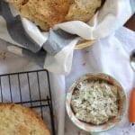 Seeded Flatbread Crackers