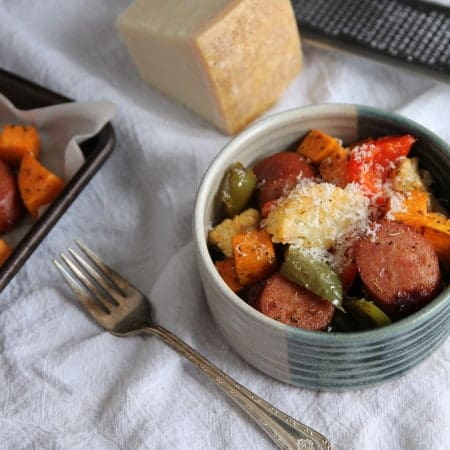 Smoked Sausage and Roasted Vegetables