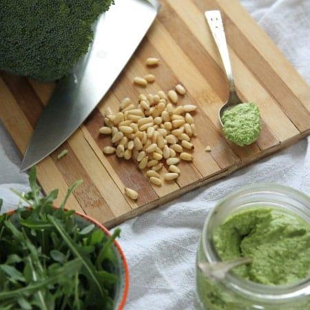 Broccoli-Arugula Pesto