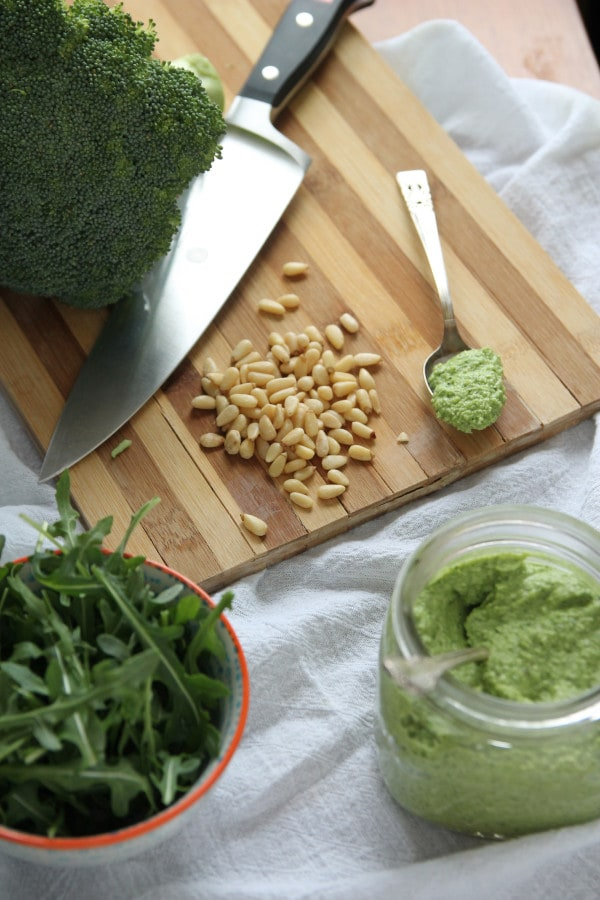 Broccoli-Arugula Pesto