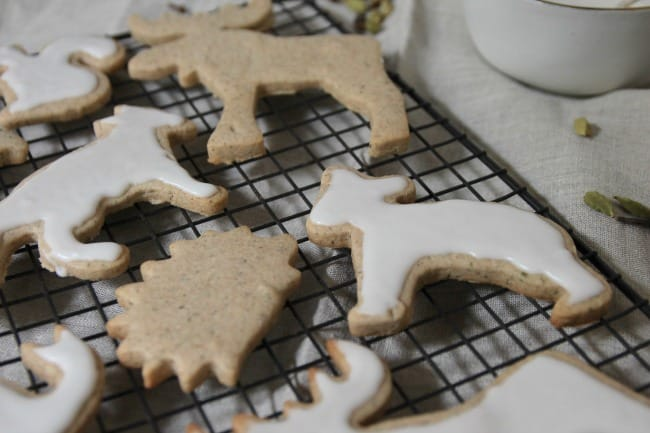 Chai Cutout Cookies Photo