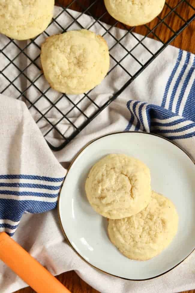Freshly Baked Pillowy Soft Sugar Cookies