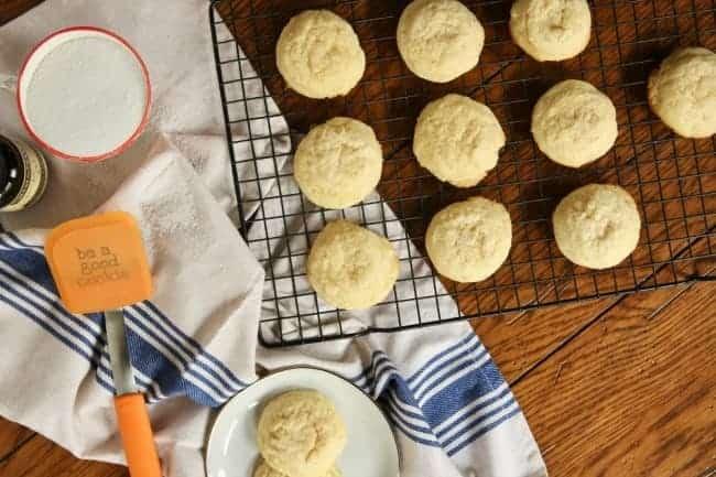 Pillowy Soft Sugar Cookies horizontal