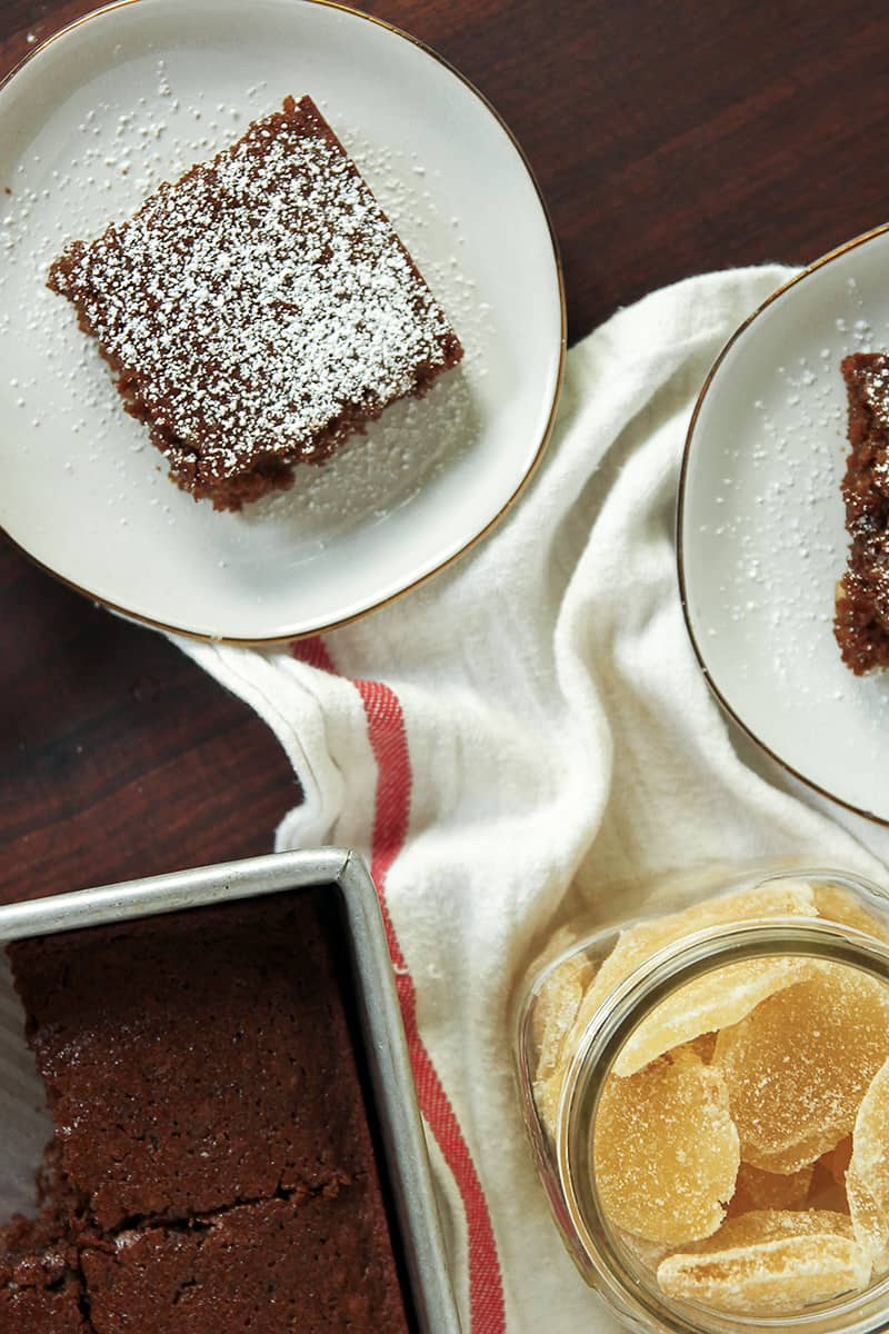Double Gingerbread Cake is the perfect cake for gingerbread lovers