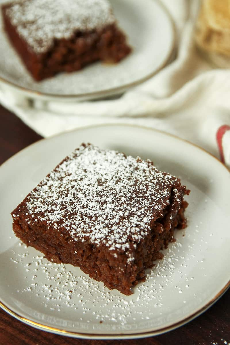 Moist and flavorful Gingerbread Cake is packed with two types of ginger.