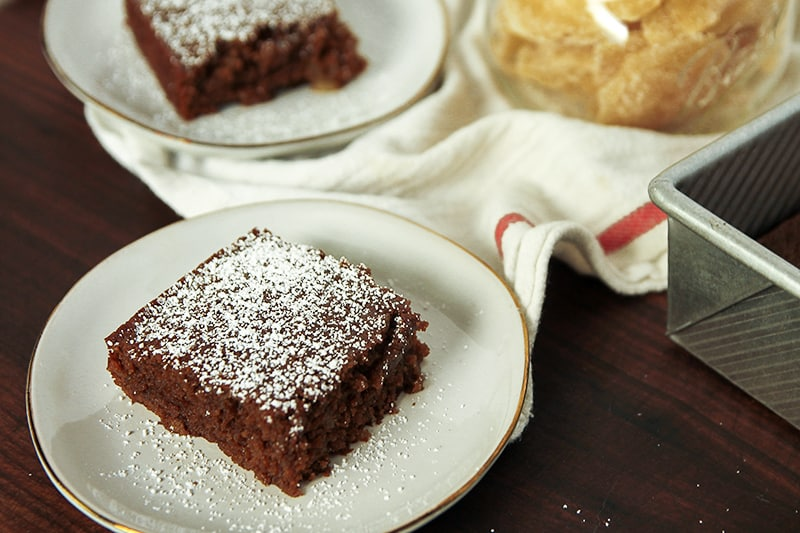 Double Gingerbread Cake is packed with candied ginger and powdered ginger - perfect for ginger lovers