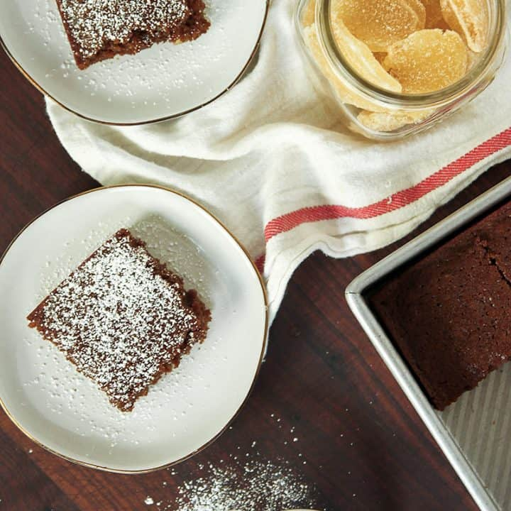 Double Gingerbread Cake
