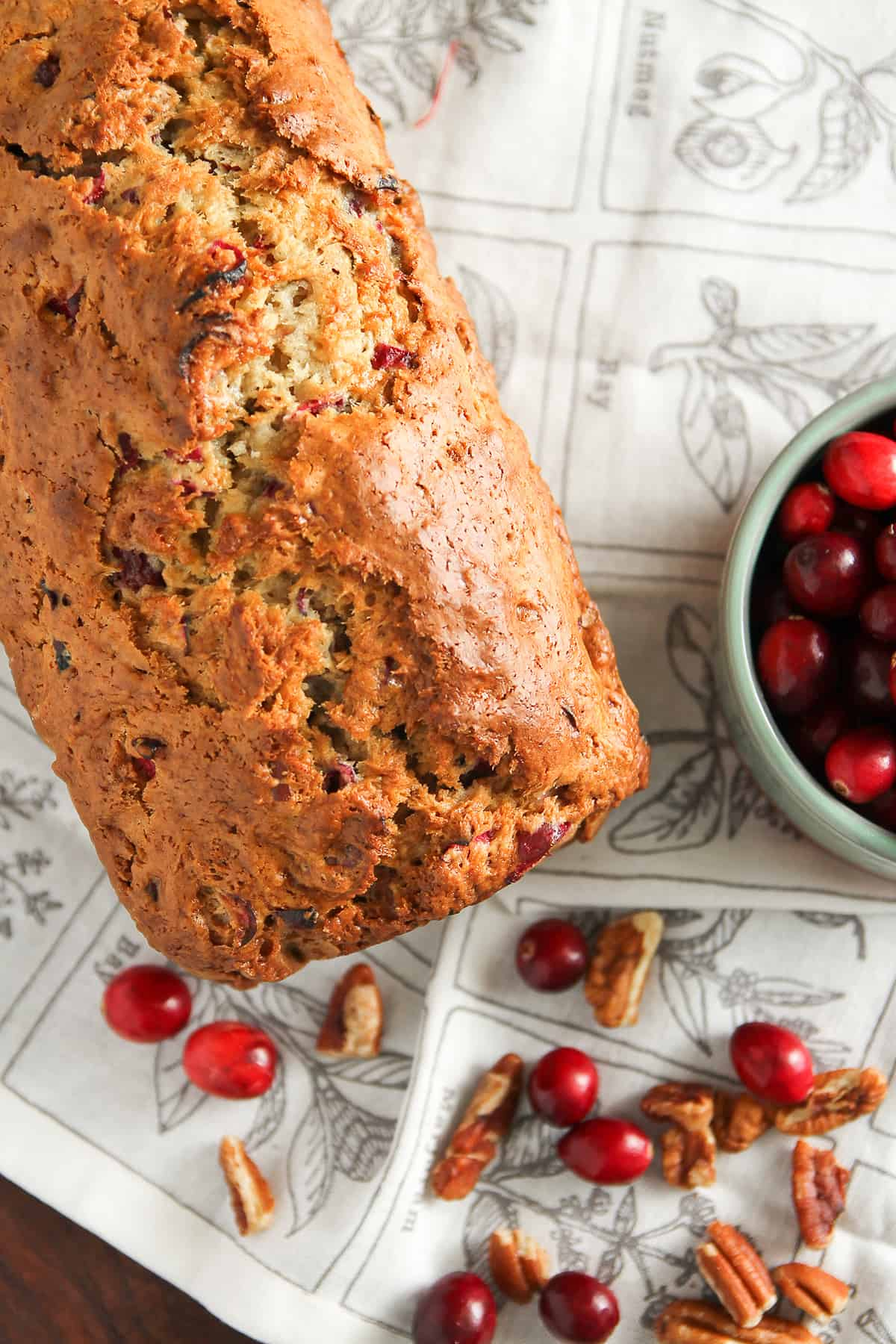 Cranberry Nut Bread is tart and sweet, and so easy you'll want to make it again and again.