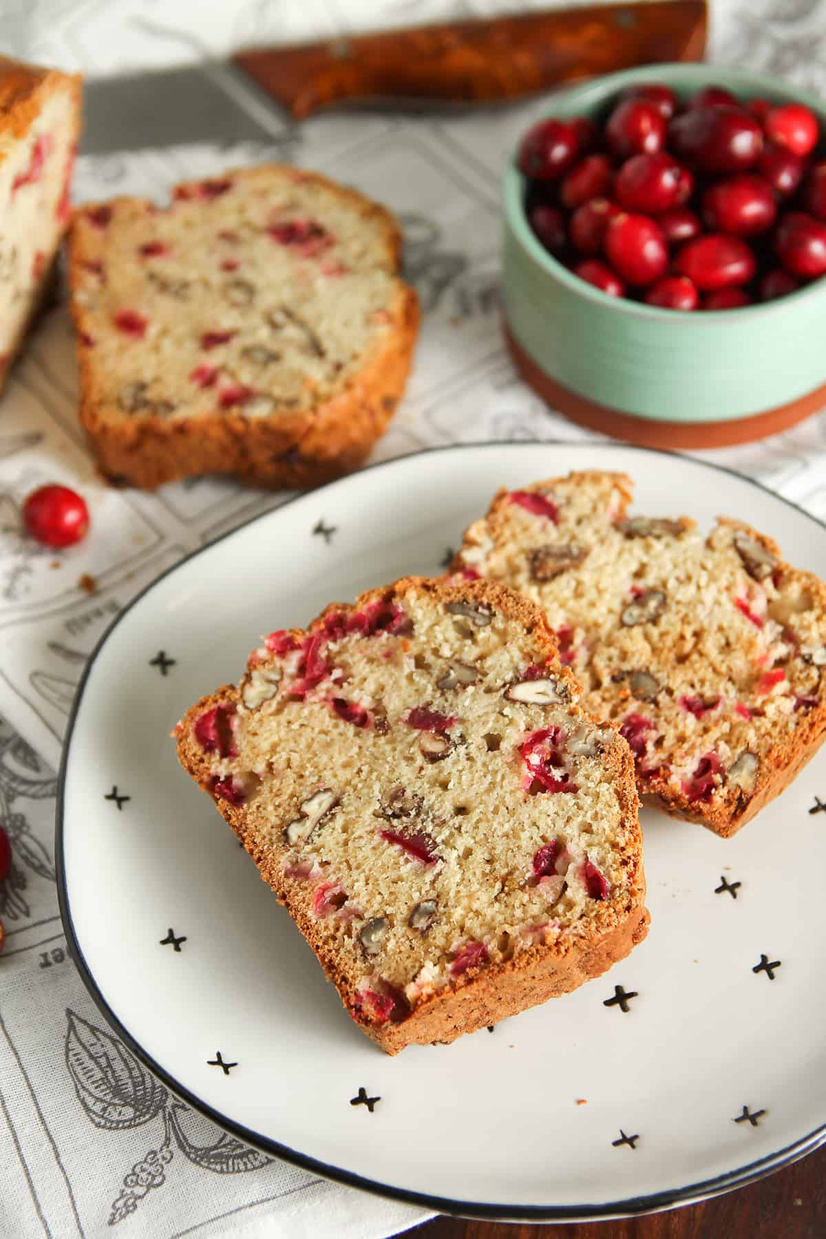 Full of fresh cranberries and pecans, Cranberry Nut Bread is an easy quick bread you'll want to make again and again.
