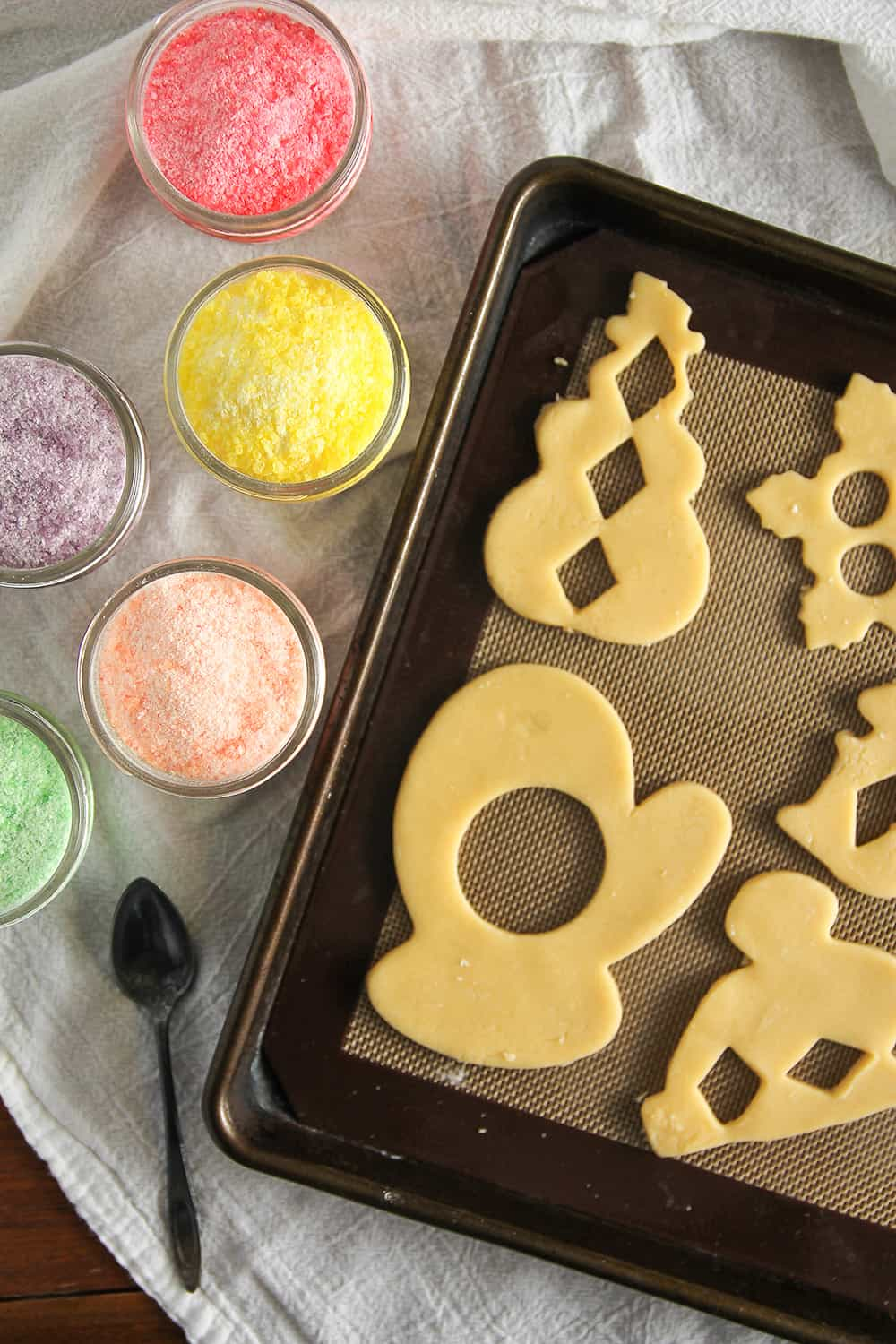 Stained Glass Cookies are a fun way to jazz up cut-out sugar cookies!