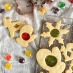 Use your favorite hard candies to make these easy and pretty Stained Glass Cookies