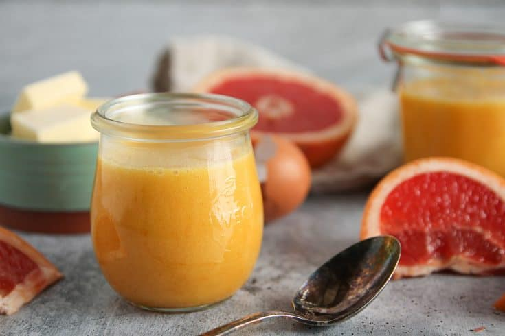 Grapefruit Curd is a delightfully bright, tangy twist on the usual citrus curd. Serve it with pound cake or serve a spoonful with yogurt and granola for a decadent breakfast.