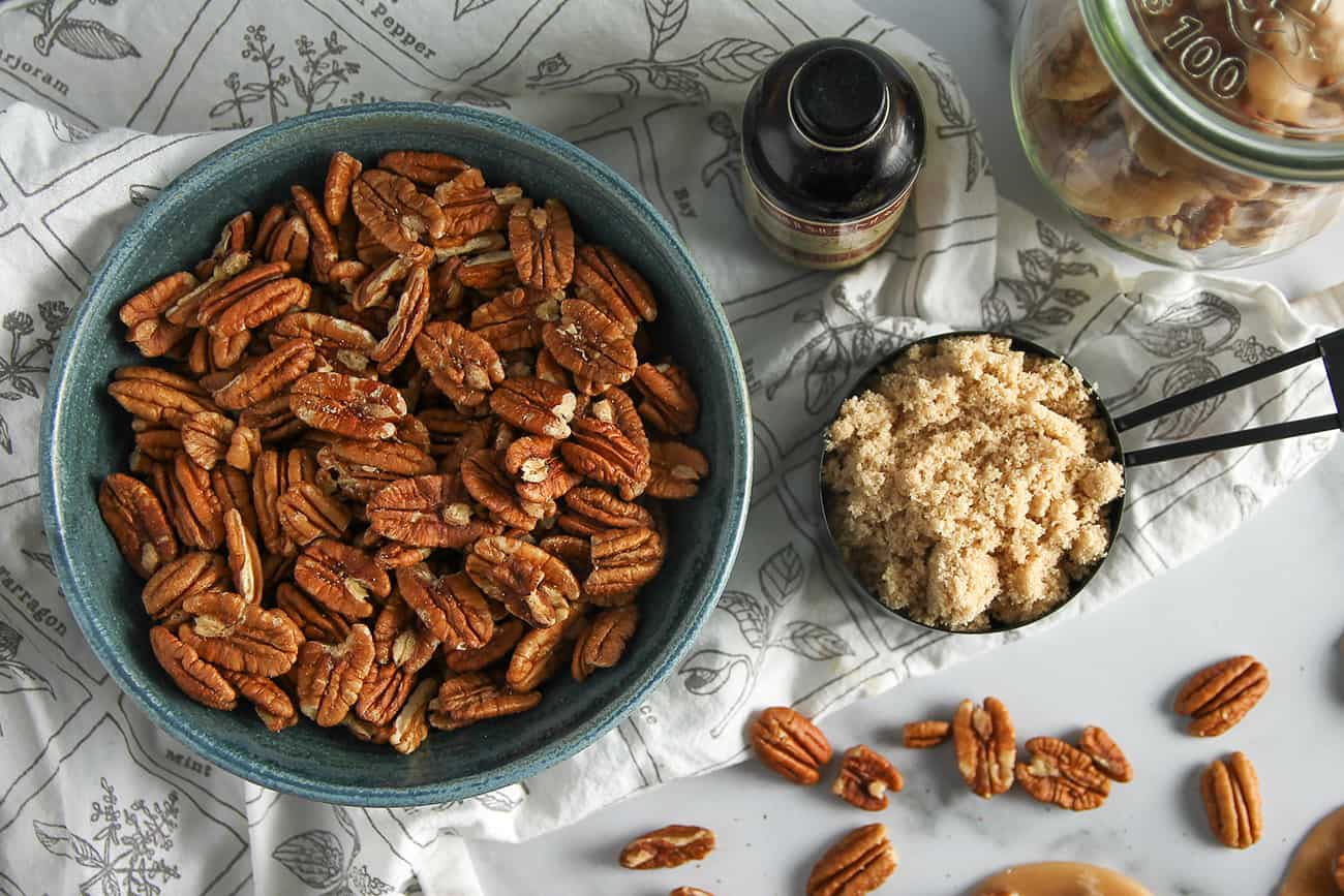 Creamy and sweet Pecan Pralines are easy to make at home