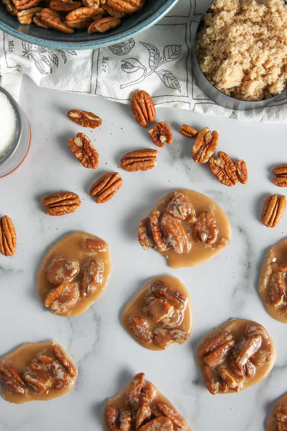 Pecan Pralines are nutty, creamy and sweet - a delicious southern candy!