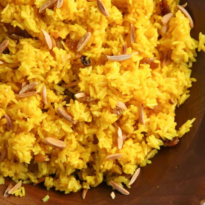 Ginger-Turmeric Rice
