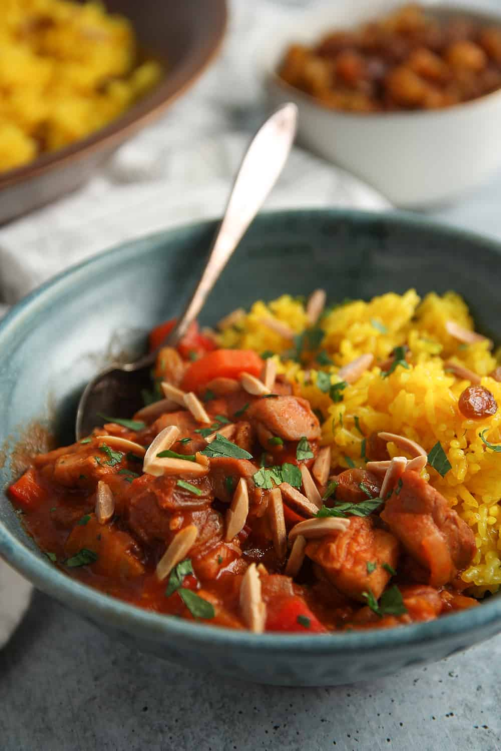 Make Quick Moroccan Chicken Stew on a weeknight or weekend; it is delicious any day!